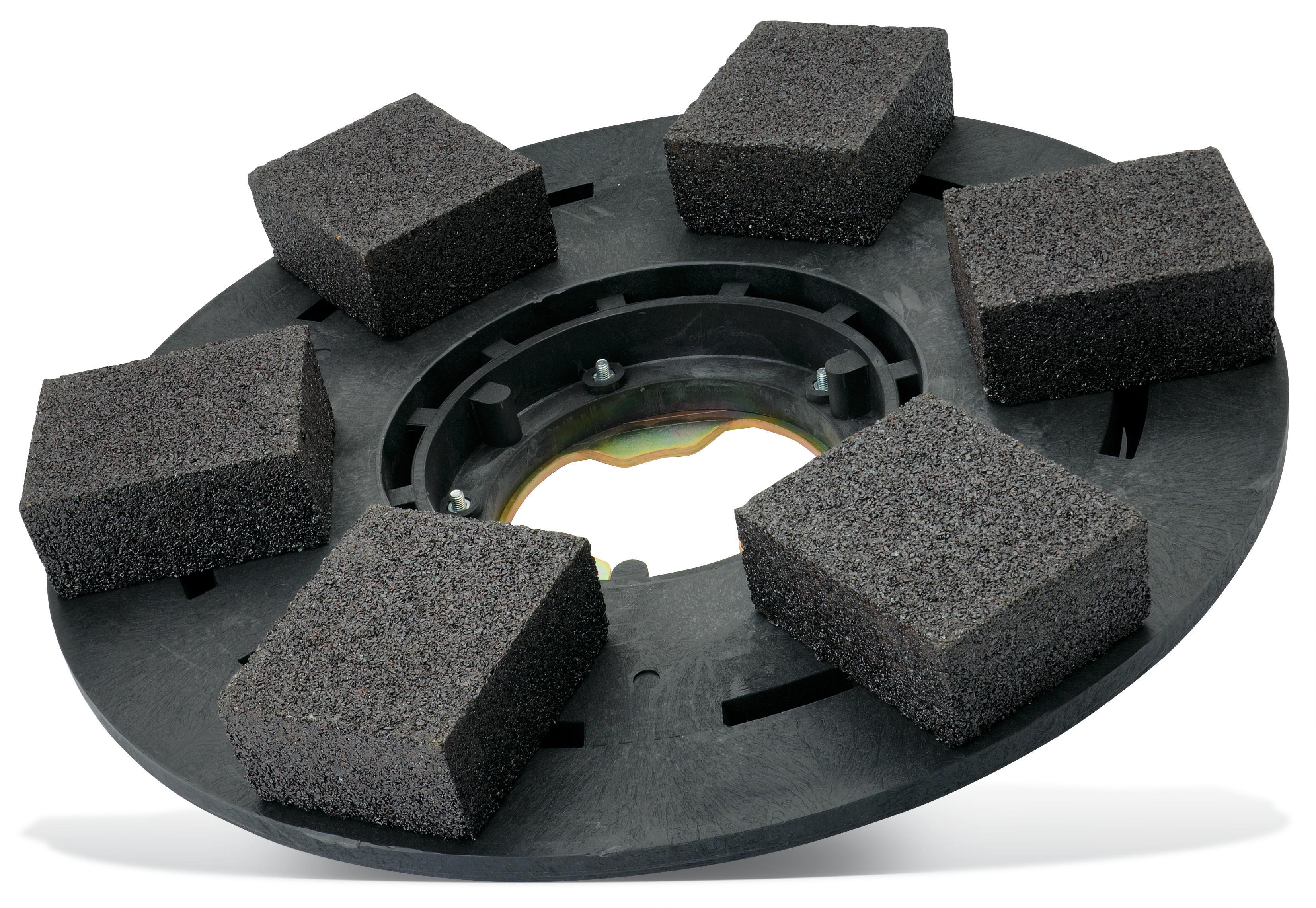 Satz Ersatzschleifsteine Schleifteller mit 6 eckigen Steinen Pajarito