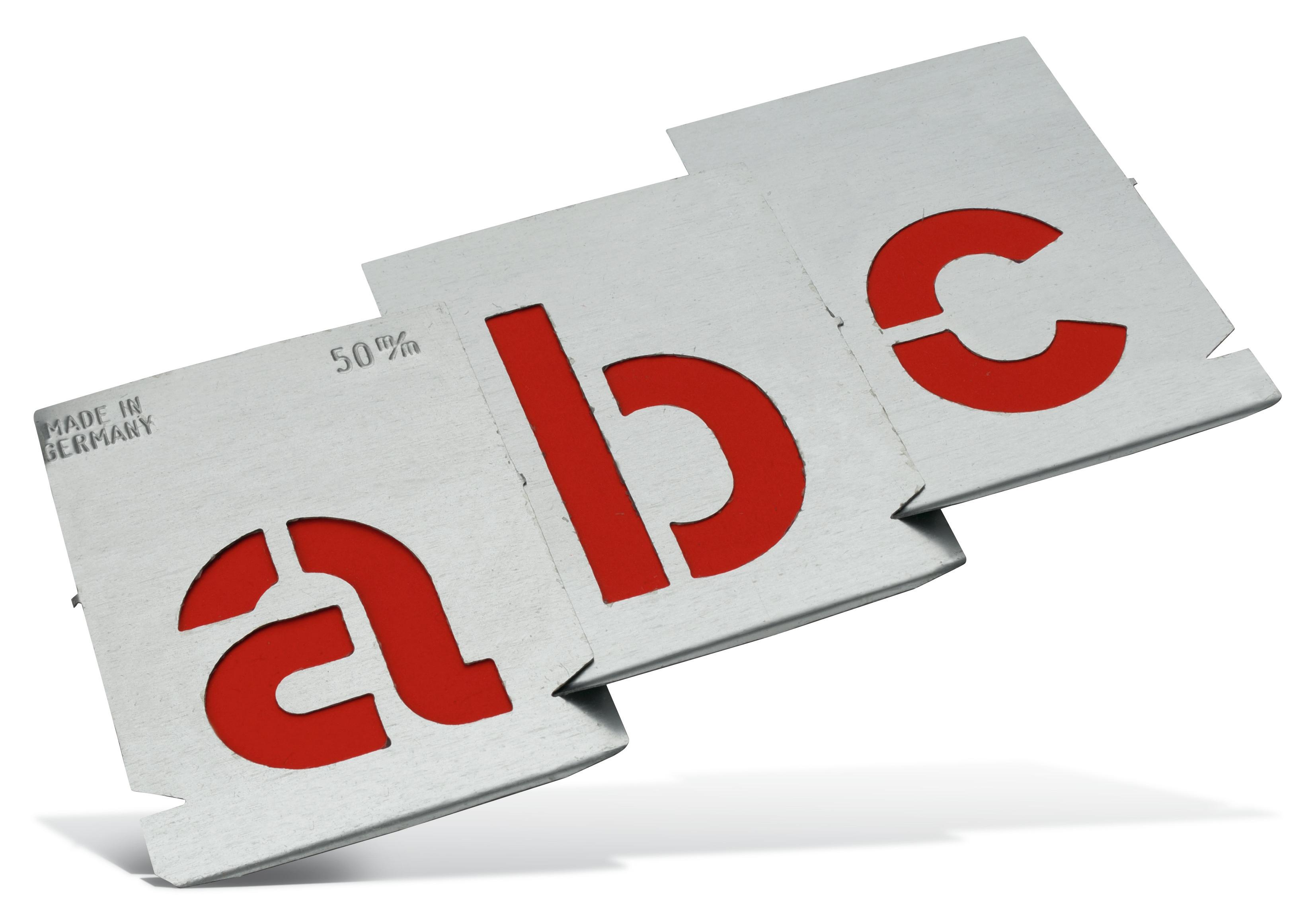 Metall-Signierschablone Pajarito