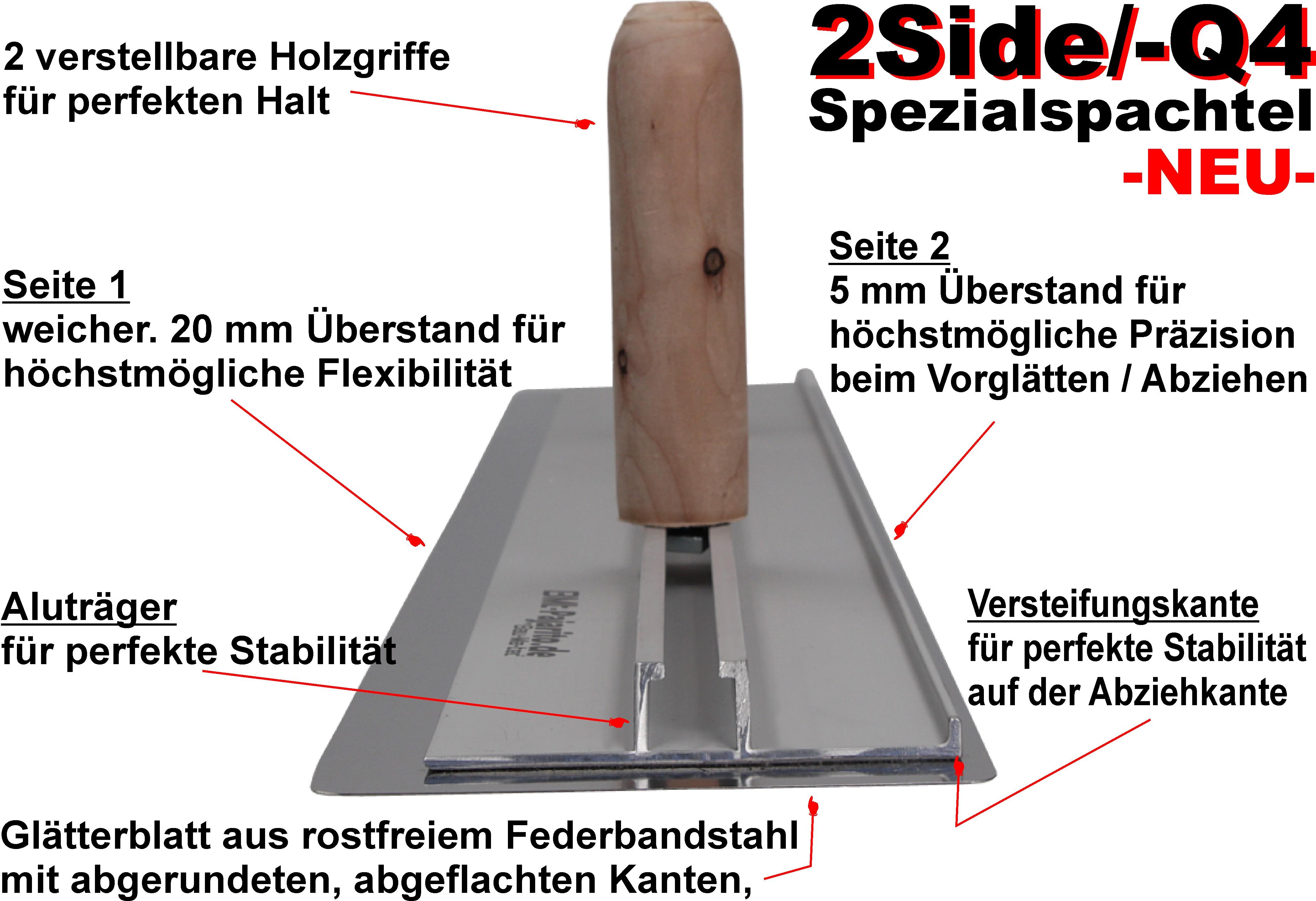 2Side /-Q4 Spezialspachtel