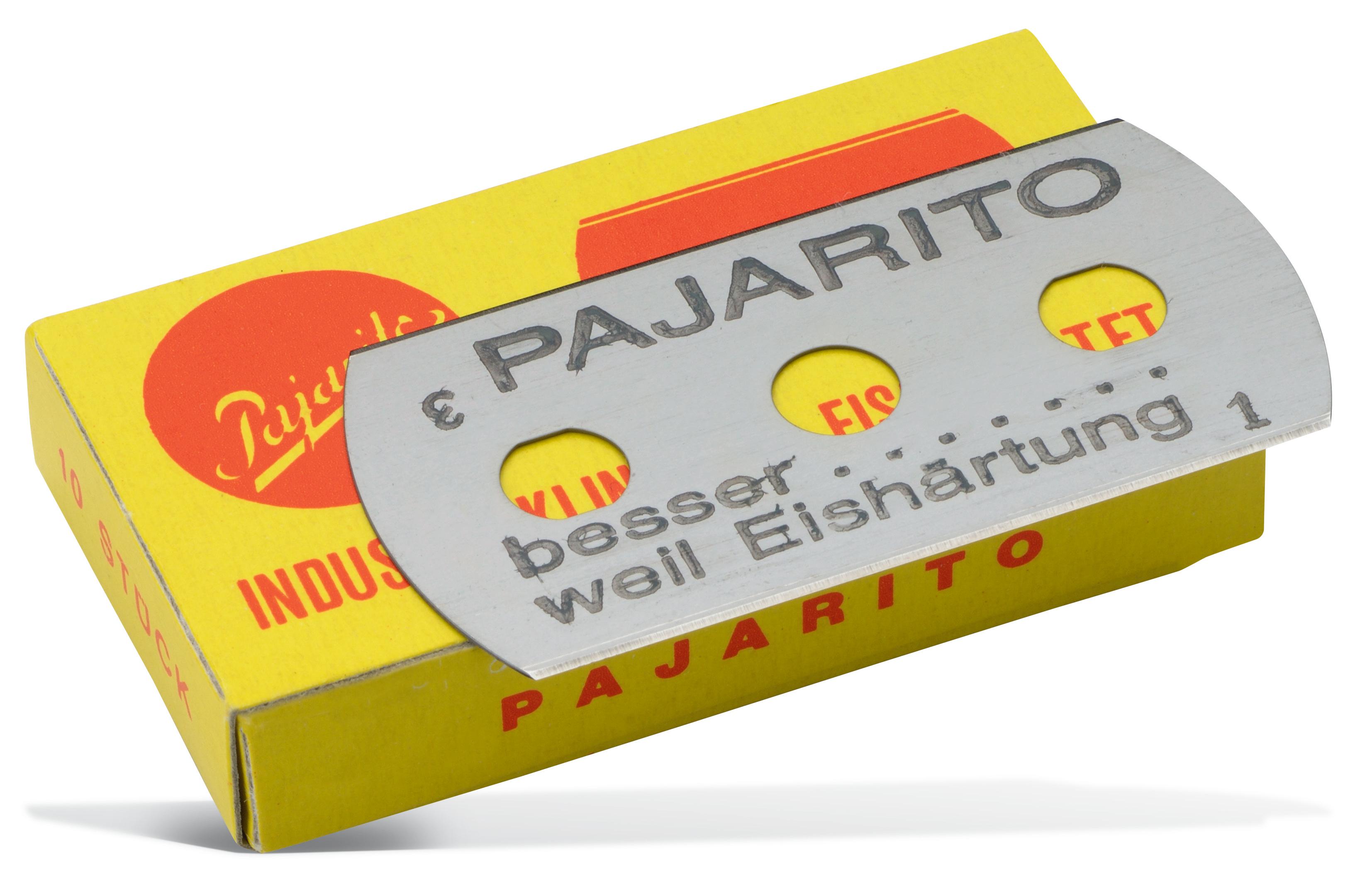 3-Loch-Industrieklinge Pajarito 10 Stück